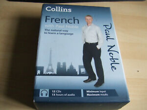 FRENCH with PAUL NOBLE NATURAL WAY TO LEARN LANGUAGE 12 CD BOXSET with Book