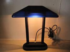 DESiGN CONTEMPORAIN,lamp, leuchte,lampe d'ambiance à variateur bleue