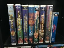 Land Before Time VHS Lot