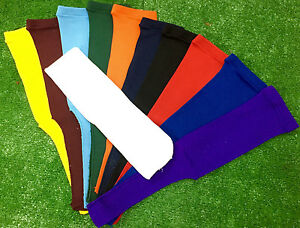 Baseball Stirrups Socks Solid Colors with White Sanitary Sock