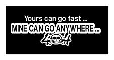 GO ANYWHERE VINYL DECAL STICKER 4X4 WINDOW GRAPHIC DIE CUT CAR TRUCK OFF ROAD