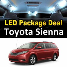 White LED Interior Package + License Plate for Toyota Sienna #A1
