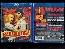 Bad Biology (Brand New 2 Disc Blu-ray/DVD Set, 2011)