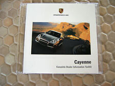 PORSCHE OFFICIAL CAYENNE S TURBO VIDEO CD ROM PROMOTIONAL BROCHURE 2003 USA Ed.