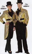 Costume di Carnevale Uomo Frack oro 608017 tg. 52-54/NUOVO