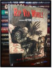 Rip Van Winkle Illustrated by Arthur Rackham New Deluxe Gift Hardcover w/ Ribbon