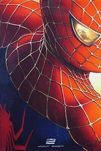 Spiderman 2 (Double Sided Advance) Original Movie Poster