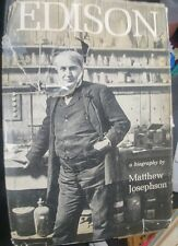 1959 1st Edition EDISON, A BIOGRAPHY by MATTHEW JOSEPHSON, Good cond