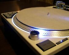PAIR of Technics SL-1200 MK5 turntable w/recessed dicer, white LED's & Halo