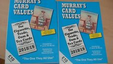 NEW MURRAY'S CARD VALUES 2019 Cigarette Trade Gum Tea cards £9.99 +  POSTAGE