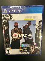 UFC 4 PS4 Brand New Factory Sealed NIB Complete CIB Playstation 4 Sony