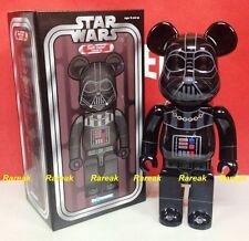 Medicom 2015 Expo Be@rbrick Star Wars 400% Darth Vader Chrome Bearbrick 1pc