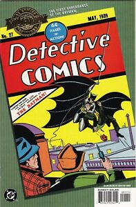 DC Comics Millennium Edition Detective Comics #27 1st Appearance Batman Reprint