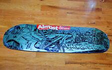 Almost LTD Daewon Song Rice Burner SIGNED Skateboard Deck Limited Gold