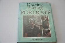 Drawing and Painting the Portrait by John Devane Large Hardback Book