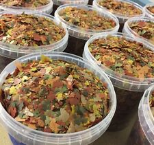 1 Litre Bucket~~Tropical/Aquarium Fish Food Flake Water Feed ~Best Selling item~