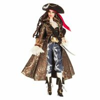 2007 Collector Treasure Pirate Barbie Doll With Hat, Sword, Hoop Earring & Boots