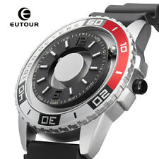 EUTOUR New Innovative Magnetic Wristwatch 2020 Mens Creative Design Luxury Watch