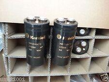 4x NEW GENUINE KENDEIL 47000UF 50V K01 CAPS FOR KRELL KSA50 NAIM HICAP QUAD AMP!