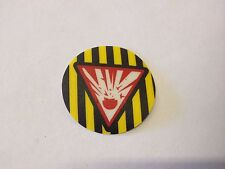 Bally Cirqus Voltaire Pinball Machine Round Hazard Bumper Decal NOS