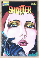 Shatter #2 - First Comics - 1986 - The First Digital Comic - NM