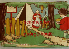 Dean'S Rag Book - Mother Goose - Roly-Poly Banner - 1911-1918 - Scarce