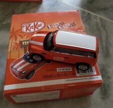 KitKat Minicar Mini car matching Red Starbucks minicar cooper