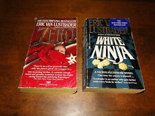 Eric van Lustbader used paperback book lot of 2 fiction
