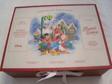 2018 Hallmark Keepsake Disney Christmas Carolers Collector'S Set-New-Unopened