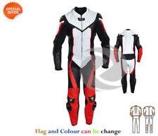Combinaisons de motocyclette rouges, taille XL