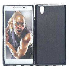 For Lenovo P70 P70t Black Matte TPU Gel Skin Case Cover