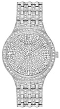 Bulova Phantom Swarovski Crystals Pave Men's Watch 96A226