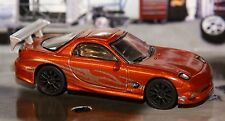 1993 93 Mazda RX-7 Street Tuner 🏁 1/64 Muscle Car The Fast And The Furious