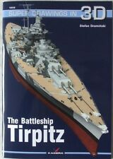 The Battleship Tirpitz - Super Drawings in 3D - Kagero ENGLISH