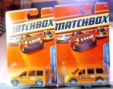 2010 Matchbox City Action Ford Transit Connect Taxi Diecast Car Lot: #59 NIP