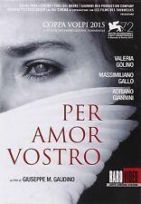 PER AMOR VOSTRO - DVD RAROVIDEO - VALERIA GOLINO - MASSIMILIANO GALLO