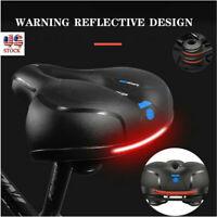 New Waterproof Saddle Fit Reflective Band Most Comfortable Memory Foam Bike Seat