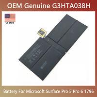 Genuine OEM Battery G3HTA038H For Microsoft Surface Pro 5 6 1796 (2017 New Pro)
