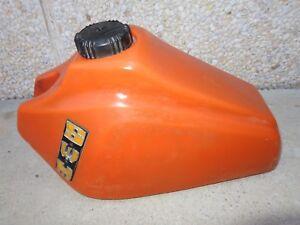 SWM 250 orange plastic fuel tank