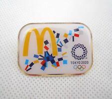 McD Tokyo 2020 olympic pin