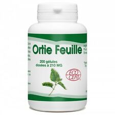 Ortie Bio (Feuille) - 210mg - 200 gélules