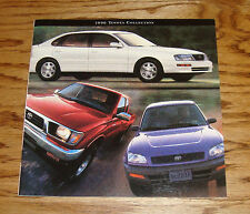 Original 1996 Toyota Car & Truck Full Line Sales Brochure 96 Camry Rav4 4Runner
