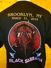 BLACK SABBATH Vintage shirt ( XL ) Brooklyn, NY Show on 3/31/2014 Ozzy Osbourne