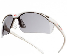 Gearbox Vision Eyewear W/ Case | Slim Fit Smoke Lens | White & Black