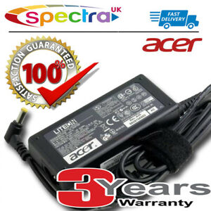 Genuine Original Acer TravelMate P6 TMP658-M Laptop Charger Power AC Adapter