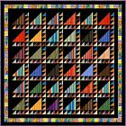 "ARABIAN NIGHTS - 88.5"" - Quilt-Addicts Precut Patchwork Quilt Kit Queen"