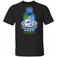 2020 ACC Men's Basketball Tournament T-shirt Fan Basketball Universities Men Tee
