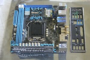 Asus P8Z77-I Deluxe mini-itx motherboard system board with i/o plate