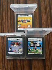 Nintendo 3 Pcs Mario Party DS+Super Mario 64 DS+New Super Mario Bros Version