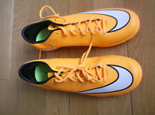 NIKE MERCURIAL VICTORY V IC MEN'S LASER ORANGE INDOOR FOOTBALL TRAINERS, UK 10